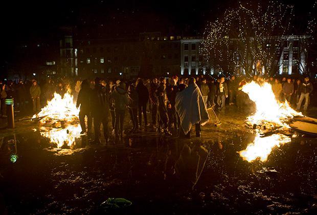 Кастрюльная революция, январь 2009 года