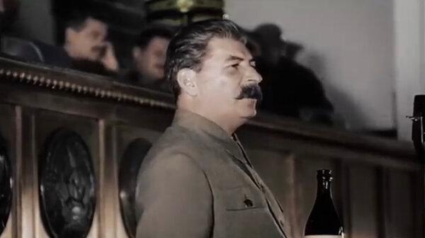 Выступление товарища Сталина