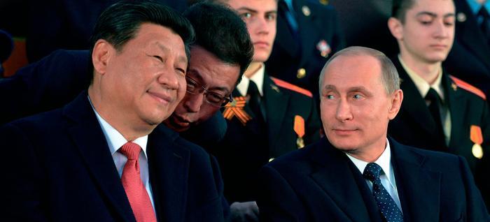 Президенты России и Китая.   фото с сайта Яндекс-картинки