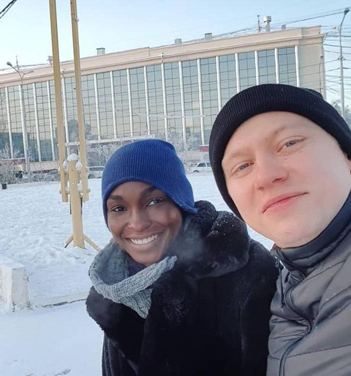 История нигерийской модели, которая вышла замуж за парня из Якутии и нашла счастье за тысячи километров от родины