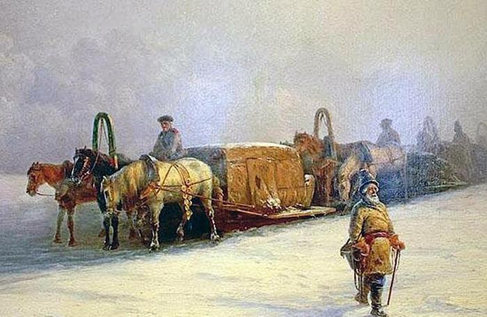 Что в Древней Руси называли самолетом и поездом?