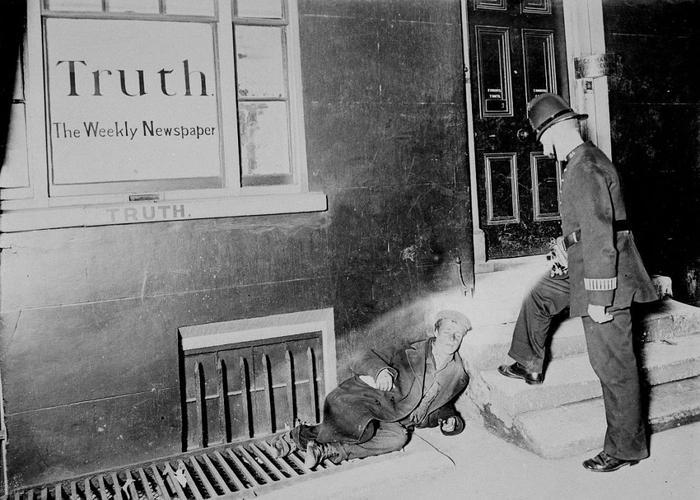 Уличная сцена. Лондон, 1902