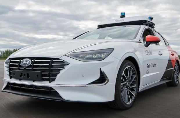 «Яндекс» и Hyundai показали первый совместный беспилотник