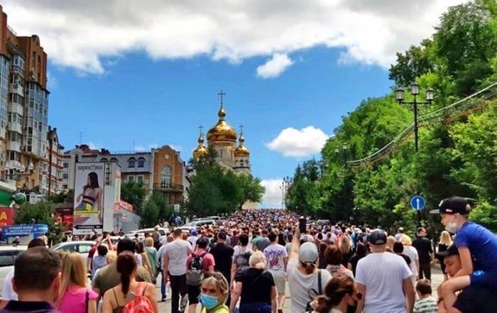 «Имидж Путина тускнеет»: мировые СМИ о массовый протестах в Хабаровске