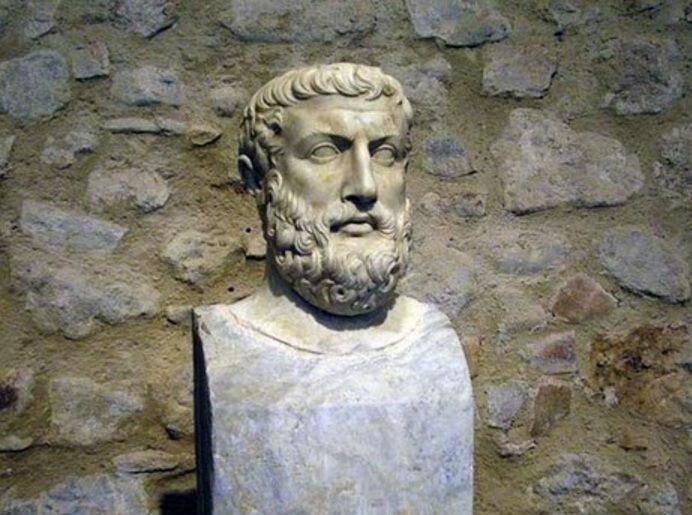 Философ Парменид. Из открытых источников