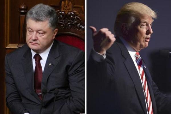 Картинки по запросу Стало известно, почему Трамп отказался встречаться с Порошенко