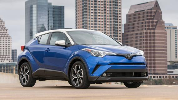 Кроссовер Toyota C-HR 2018 / Тойота C-HR 2018