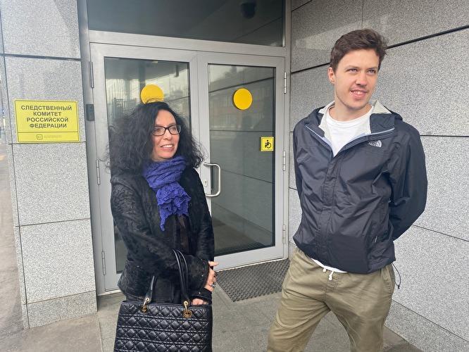 Роман Анин с адвокатом Анной Ставицкой