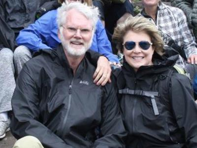 Oppressive white patriarchal murder victims Dr. Robert Lesslie and wife Barbara.