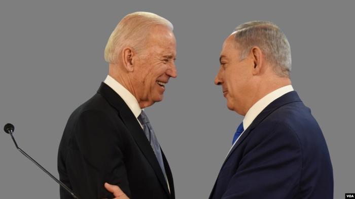 Джо Байден и Биньямин Нетаньяху (архивное фото)