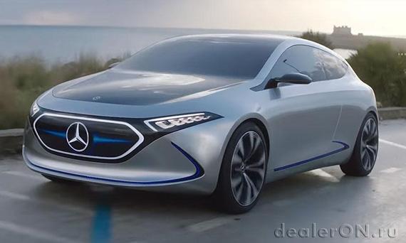 Электрический хэтчбек EQA (Mercedes)