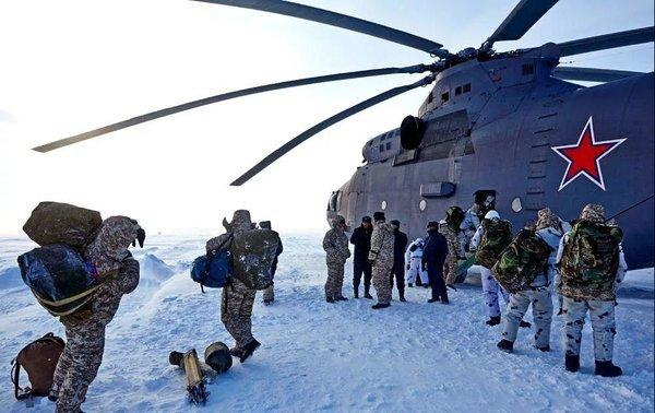Россия осваивает Арктику