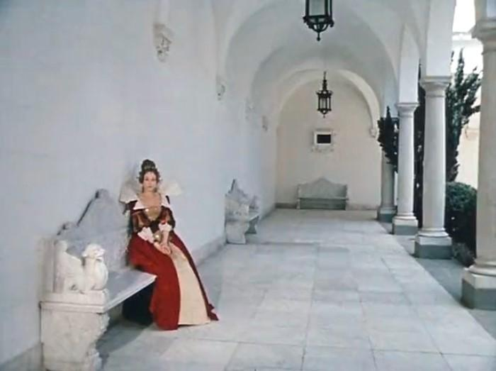 Съемки фильма проходили в Ливадийском дворце | Фото: kino-teatr.ru