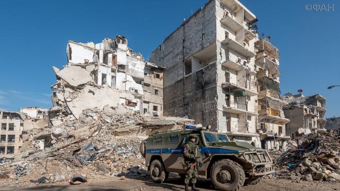 Военная полиция РФ в Алеппо