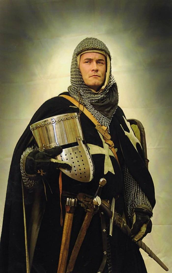 Рыцарь госпитальер (реконструкция)