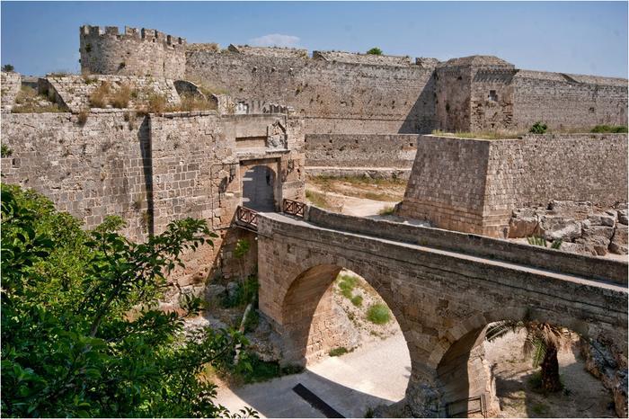 Крепость госпитальеров на Родосе