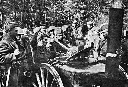 Зачем солдатам советской армии давали перловку