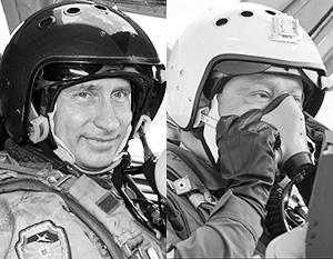 И Путин, и Порошенко любят полетать на истребителе, вот только в России военная авиация развивается, а Украине хвастаться нечем