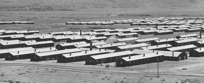 Концлагерь Jerome War Relocation Center в штате Арканзас