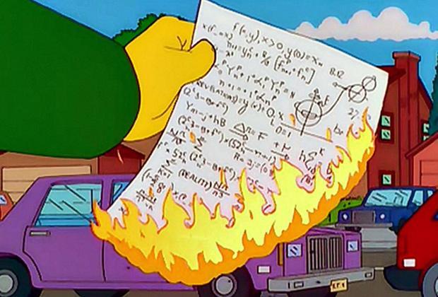 Математика в «Симпсонах»