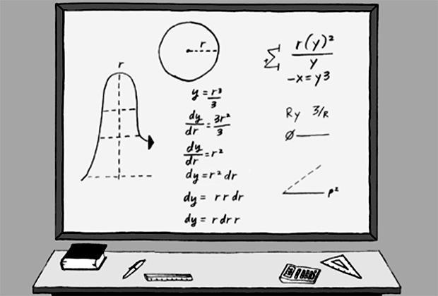 Кадр из Симпсонов - первая математическая шутка