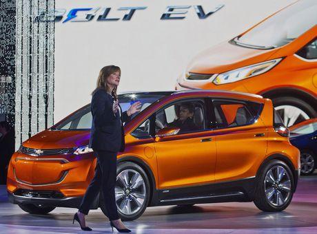 AP Auto Show General Motors