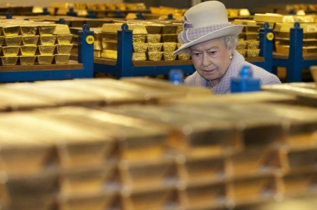 Королева в золотом хранилище