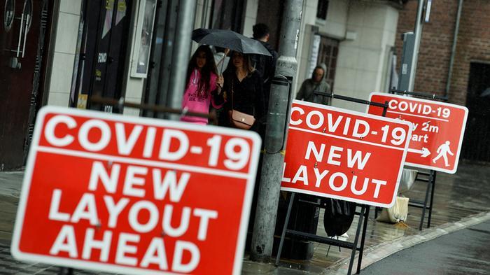 BI: рекордное сокращение ВВП на 20,4% — Великобритания официально вошла в рецессию