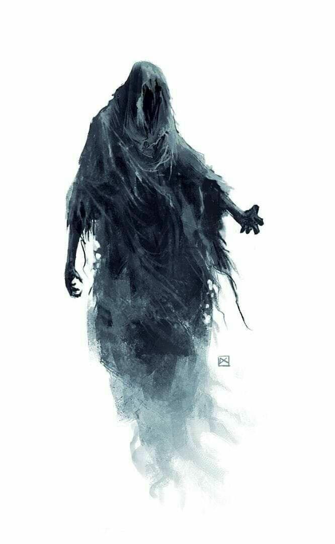 Дементор из вселенной Гарри Поттера. Изображение взято из открытых источников.