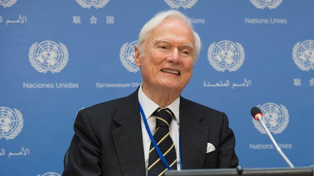 Идрис Джазаири. Фото: ООН / Эскиндер Дебебе