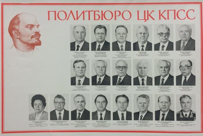 Картинки по запросу политбюро горбачев