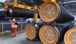 На фото: трубы для газопровода «Северный поток — 2»