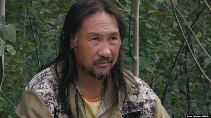 Якутский шаман Александр Габышев