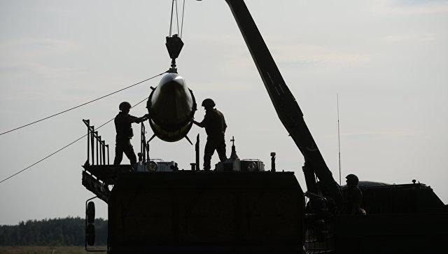 Развёртывание оперативно-тактического ракетного комплекса Искандер-М