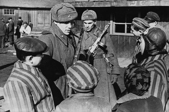 «Википедия» удаляет фото освобождения Освенцима армией СССР, переписывая память европейцев