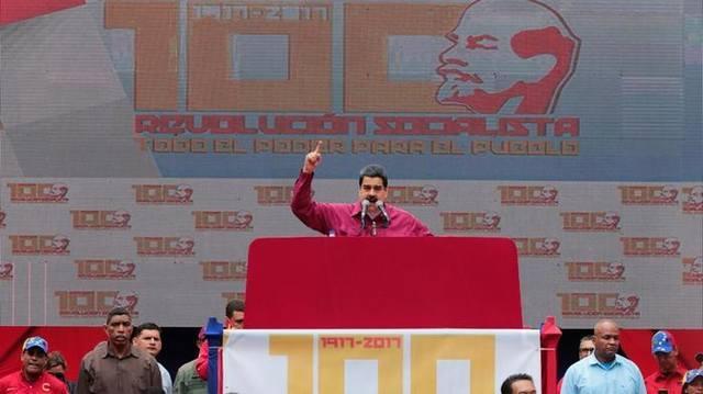 Венесуэла отмечает 100-е Великого Октября.