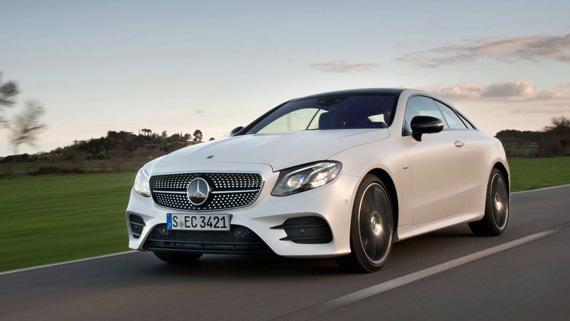 Купе Mercedes-Benz E-класс 2018 / Мерседес-Бенц Е-класса 201