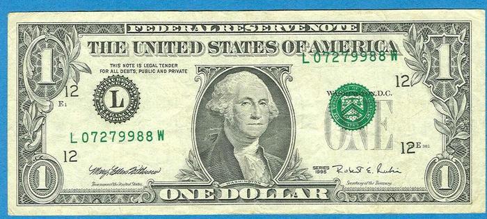 доллар ФРС.
