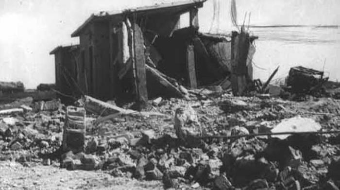 Руины школы в Бахр-эль-Бахр