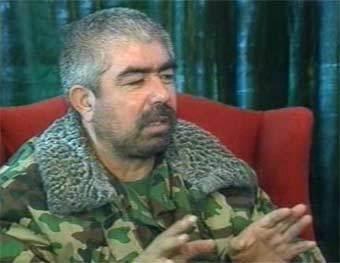Генерал Абдул Рашид Дустум. Кадр из архива ТВ-6