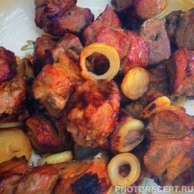Фото рецепта - Свиной шашлык на минеральной воде - шаг 9