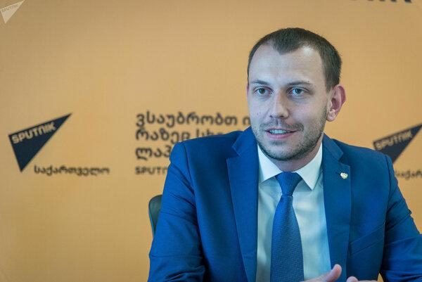Антон Бредихин. Фото с сайта: Sputnik-georgia.ru