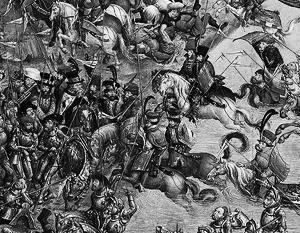 В битве под Оршей 1514 года армия Великого княжества Литовского одержала тактическую победу над войсками Москвы