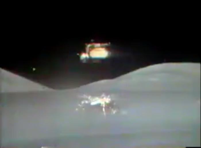 """Это якобы """"Аполлон-17"""" стартует якобы с Луны."""