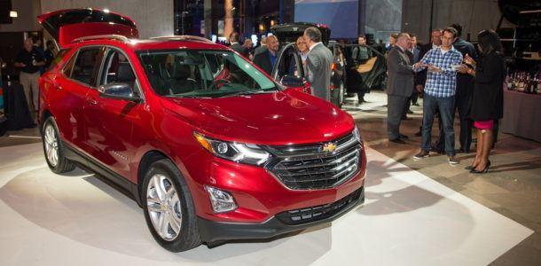 Новый Chevrolet Equinox 2018 года был представлен в США