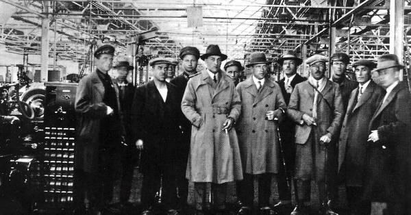 Индустриализация американские специалисты США
