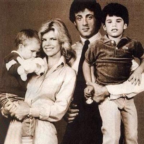 Сильвестр Сталлоне с семьей