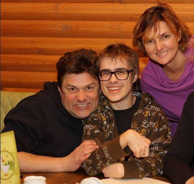 Сергей Белоголовцев с сыном Женей