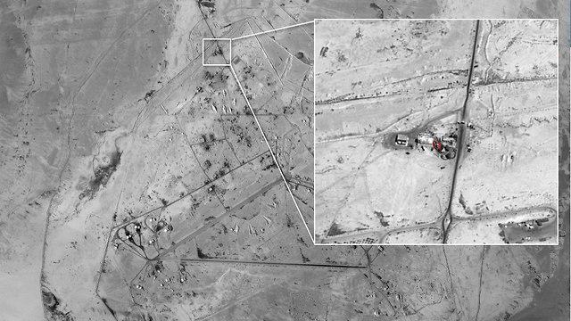 Иранская база в пригороде Дамаска
