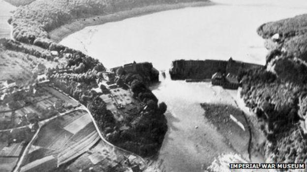 Eder Dam breach